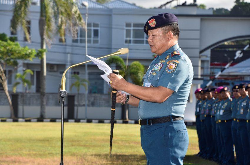 KASAL: TNI AL HARUS DIAWAKI PRAJURIT TERLATIH, TERDIDIK, DAN SEJAHTERA