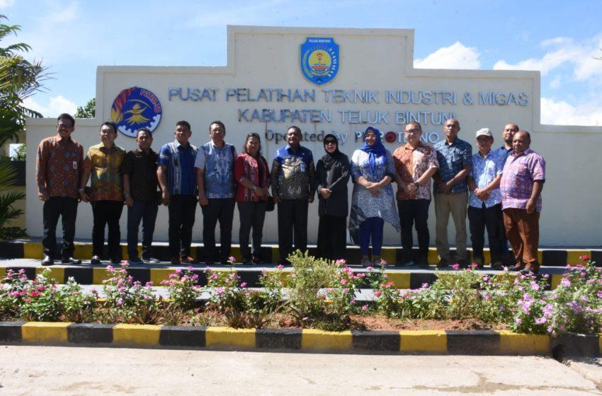 P2TIM Bintuni Menjadi Sorotan PEMPROV Maluku.