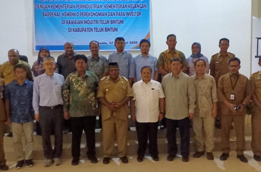Kementrian RI Bersama Para Investor, Seriusi Pembangunan Kawasan Industri Di Bintuni
