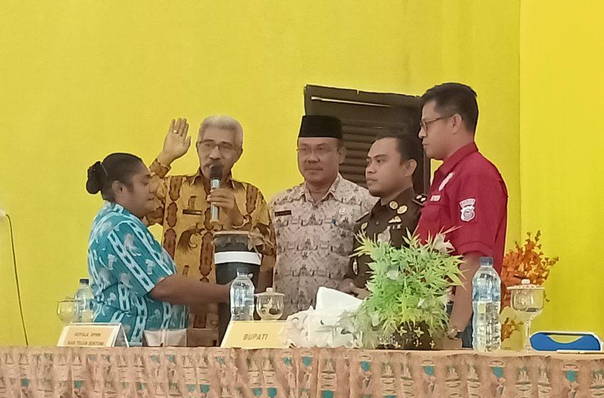 Sosialisasi SATGAS Dana Desa 2020, 3 Pedoman Presiden Jokowi Bagi KEPDES Bintuni