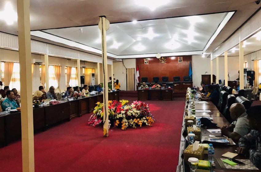 Perkenalan AKD DPRD Raja Ampat, Pemda Diminta Kesiapan Pembahasan LKPJ