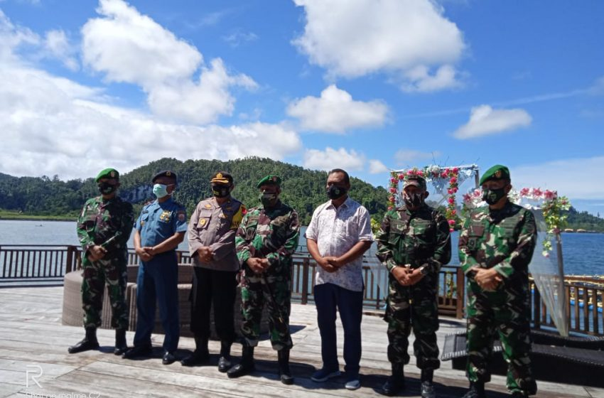 Kunjungi Raja Ampat, Pangdam Cek Kodim Laksanakan Tugas Teritorial