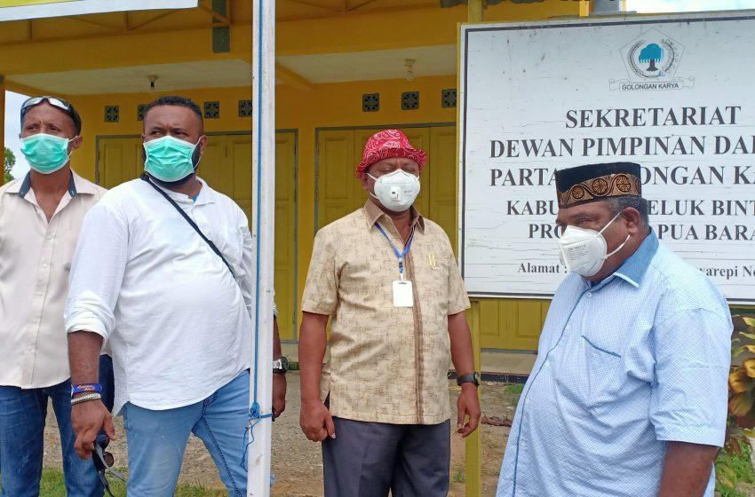 Pengurus DPD Partai GOLKAR Teluk Bintuni Hindari Rekomendasi DPP; Tim Kerja PMK2 Jilid ll Tidak Duduk Diam