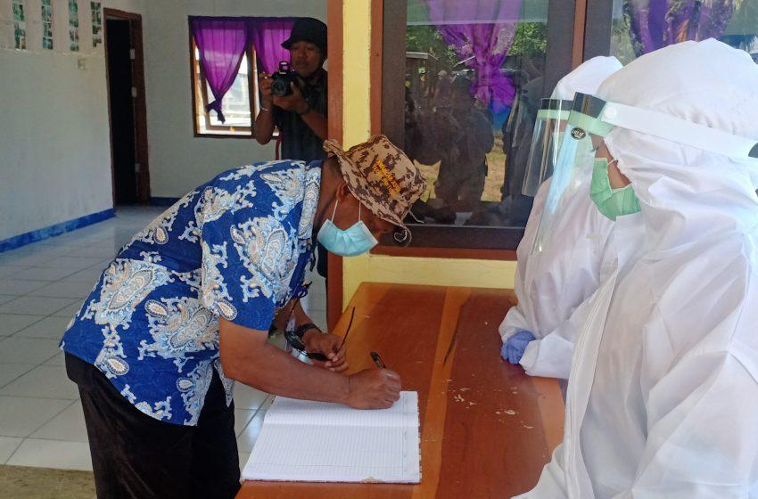 Launching Bintuni Menuju New Normal;  Bupati Petrus Kasihiuw Himbau Tetap Perhatikan Protokol Kesehatan