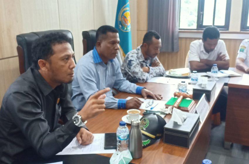 Komisi B DPRD Bintuni Komitmen, Perjuangkan Nasib 471 Karyawan Yang di PHK dan di Rumahkan SUBCON LNG Tangguh