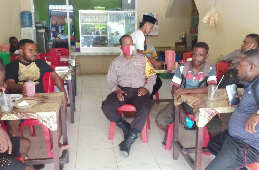 Sat Binmas Polres Patroli Dialogis, Masyrakat Bintuni Di Himbau Jelang Pilkada 2020 Tidak Terpancing Isu Berbau SARA
