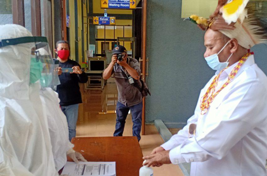 Staf Khusus Kemenhub RI Kunker Di Teluk Bintuni, Ikuti Protokol Kesehatan Covid- 19