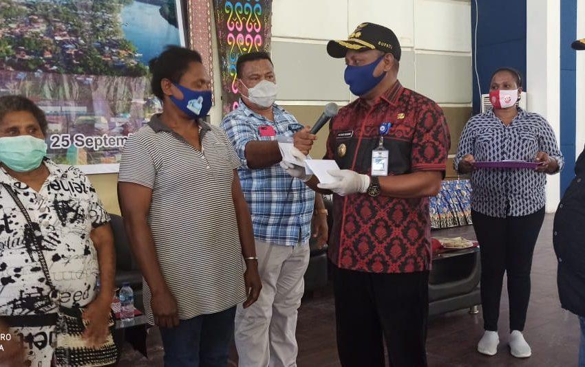 Di Tengah Pandemik Wabah Covid- 19, Pemda Teluk Bintuni Dorong Masyarakat pengusaha UKM