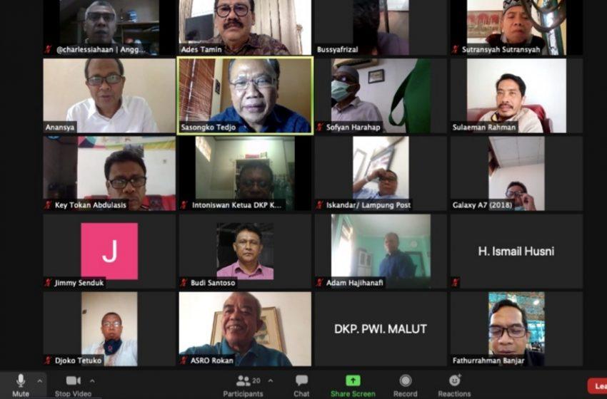 Dewan Kehormatan PWI Pusat Berikan Sanksi Wartawan Terlibat Konstestasi Pilkada