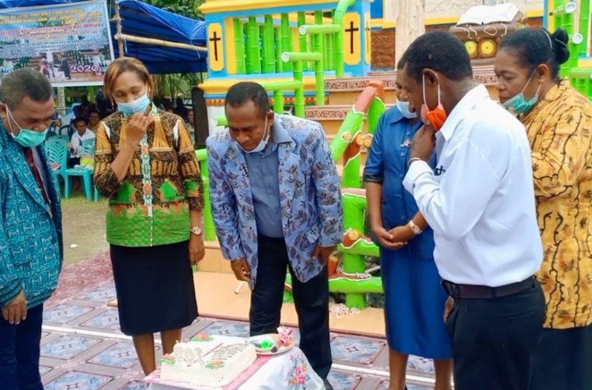 Meriah Dan Bersukacita Warga Jemaat Idoor Rorandei Perayaan HUT PI Ke- 109 Tahun