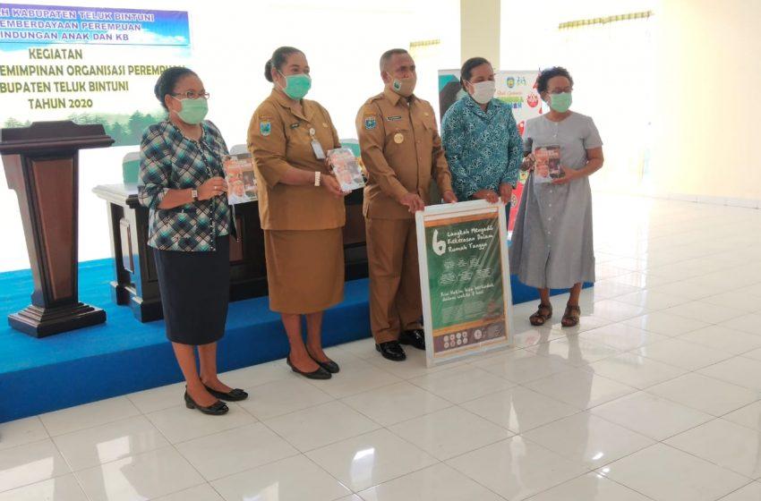 Pelatihan Kepemimpinan Perempuan; Bupati Bintuni Harap Kaum Wanita Terlibat Menentukan Pembangunan