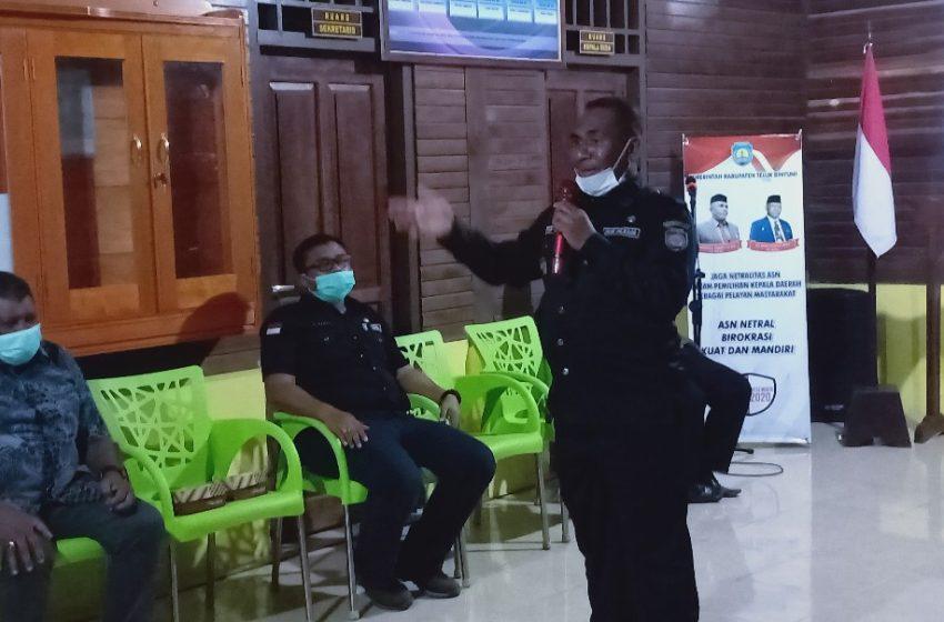 Kunker PJS Bupati Teluk Bintuni Di Sumuri;  Masyarakat Diharap Mampu Menjaga Kebersamaan Pesta Pemilu 9 Desember