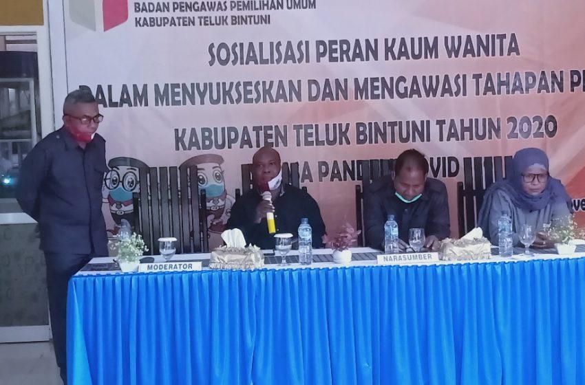 Bawaslu Teluk Bintuni; Peran Penting Kaum Wanita Awasi Tahapan Pilkada 2020 Masa Pandemi Covid-19