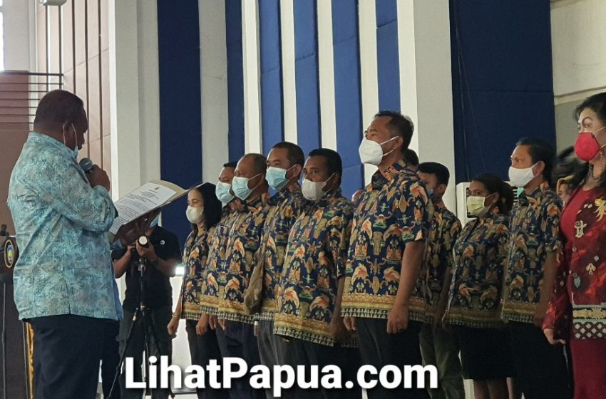 Pengurus DPC Unipa Kab-Teluk Bintuni Di Lantik; Ketua Umum DDP Berharap Mampu Berkarya Terhadap Potensi Yang Dimiliki