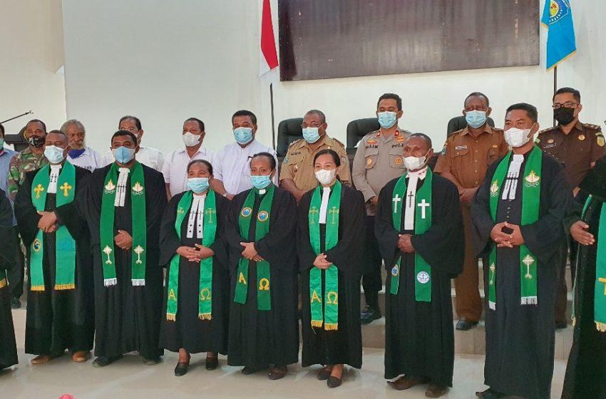Mohon Pengampunan dan Pemulihan, Pemerintah dan Badan Pekerja Klasis GKI Teluk Bintuni Doa Bersama
