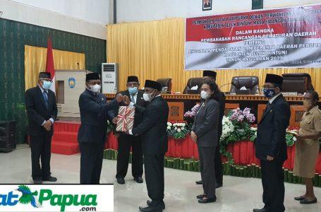 Paripurna APBD-P TA 2021 Teluk Bintuni Defisit, 4 Fraksi DPRD Setuju